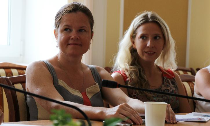 Маргарита Кузнецова и Ксения Матвеева. Фото Марии Атрощенко