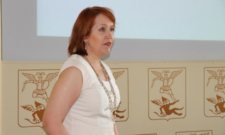 Светлана Бызова. Фото Марии Атрощенко